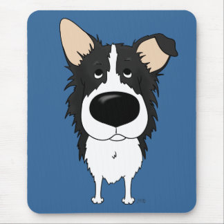 Tapis De Souris Grand nez border collie