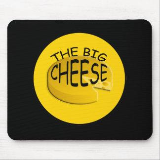 Tapis De Souris Grand patron drôle Mousepad de fromage
