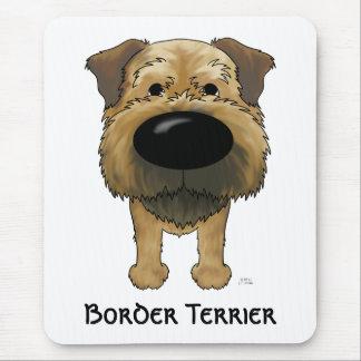 Tapis De Souris Grande frontière Terrier de nez