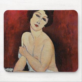 Tapis De Souris Grande nudité posée (huile sur la toile)