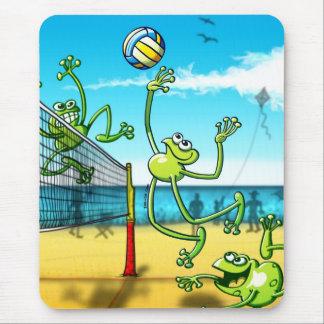 Tapis De Souris Grenouille de volleyball