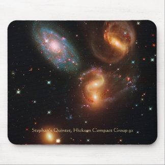 Tapis De Souris Groupe de galaxie d'étoile d'espace lointain de