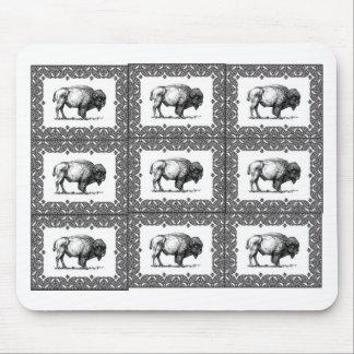 Tapis De Souris groupes de bison