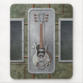 Tapis De Souris Guitare de Steampunk