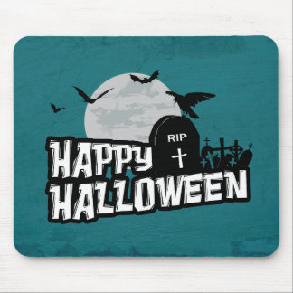 Tapis De Souris Halloween heureux