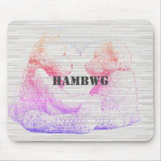 Tapis De Souris HAMbWG - souris d'ordinateur - amour d'ours de