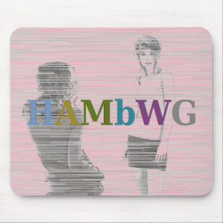 Tapis De Souris HAMbWG - souris d'ordinateur - deux filles