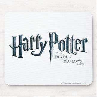 Tapis De Souris Harry Potter et le de mort sanctifie le logo 1 2
