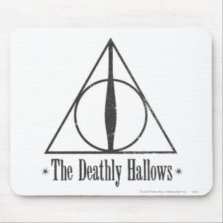 Tapis De Souris Harry Potter | le de mort sanctifie l'emblème