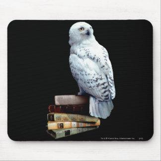 Tapis De Souris Hedwig sur des livres