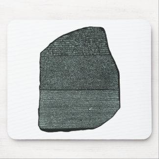 Tapis De Souris Hiéroglyphes égyptiens antiques de pierre de
