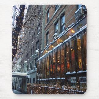 Tapis De Souris Hiver supérieur NYC de New York City de glaçons de