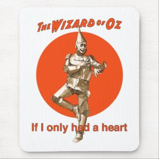 Tapis De Souris Homme de bidon de magicien d'Oz
