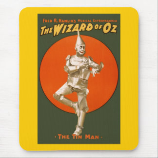 Tapis De Souris Homme de bidon de magicien d'Oz - théâtre musical