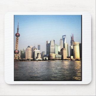Tapis De Souris Horizon de Changhaï Chine
