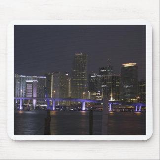 Tapis De Souris Horizon de nuit de Miami