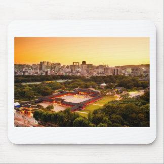 Tapis De Souris Horizon de Séoul Corée du Sud