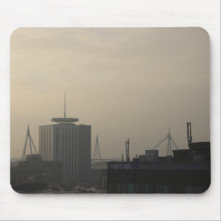 Tapis De Souris Horizon de ville de Cardiff