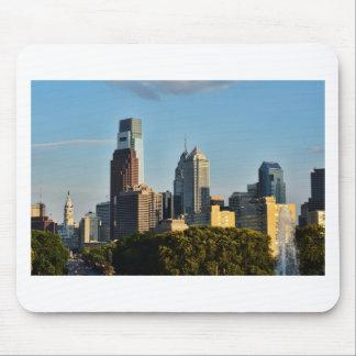 Tapis De Souris Horizon de ville de Philadelphie