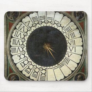 Tapis De Souris Horloge dans le Duomo par Paolo Uccello