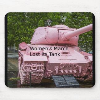 Tapis De Souris Humour de la politique : Mars des femmes a perdu