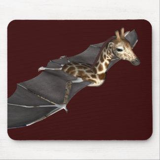 Tapis De Souris Hybride de girafe de batte
