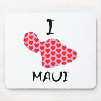 Tapis De Souris I coeur Maui