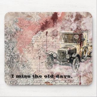 Tapis De Souris I conception Mousepad de voiture de Mlle The Old
