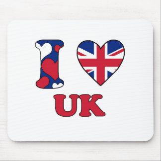 Tapis De Souris I love UK
