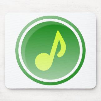 Tapis De Souris Icône de musique