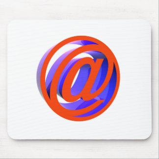 Tapis De Souris Icône d'email