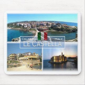 Tapis De Souris IL l'Italie - la Calabre - le Le Castella -