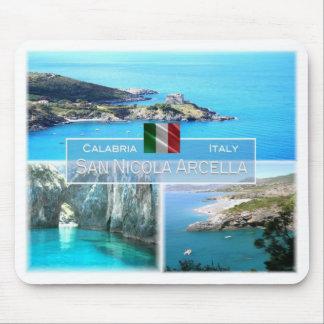 Tapis De Souris IL l'Italie - la Calabre - le San Nicola Arcella -