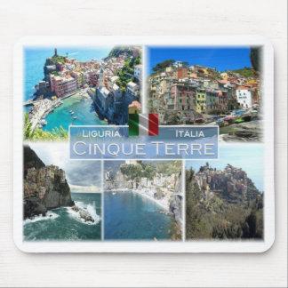 Tapis De Souris IL l'Italie - la Ligurie - Cinque Terre -