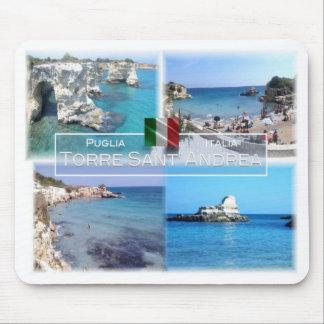 Tapis De Souris IL l'Italie - la Puglia - le Torre Sant Andrea -
