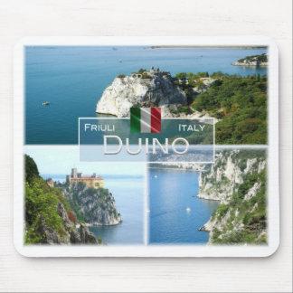 Tapis De Souris IL l'Italie - le Friuli Venezia Giulia - le Duino