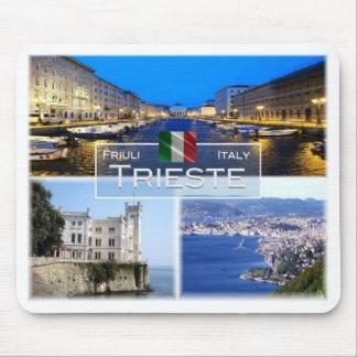 Tapis De Souris IL l'Italie - le Friuli Venezia Giulia - Trieste -