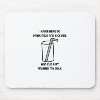 Tapis De Souris IL serrent le lait de boissons