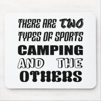 Tapis De Souris Il y a deux types de camper et de d'autres de