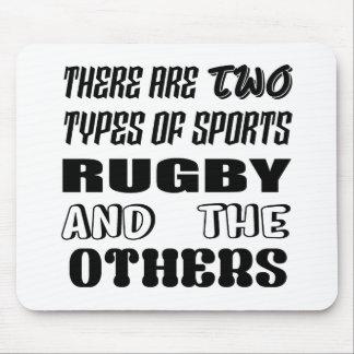 Tapis De Souris Il y a deux types de rugby et de d'autres de
