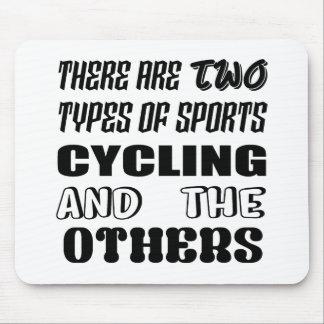 Tapis De Souris Il y a deux types du recyclage et de d'autres de
