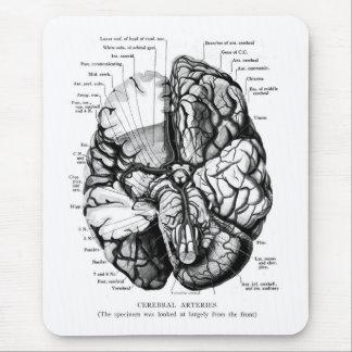 Tapis De Souris Illustration médicale vintage de kitsch votre