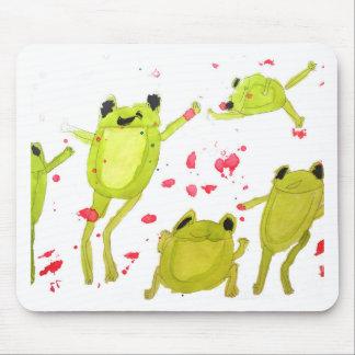 Tapis De Souris Illustration mignonne de grenouille