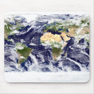 Tapis De Souris image de Vrai-couleur de la terre entière