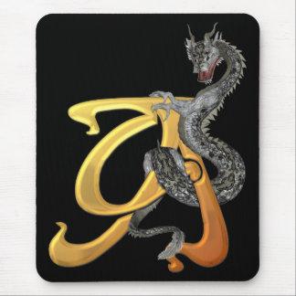 Tapis De Souris Initiale A de Dragonlore