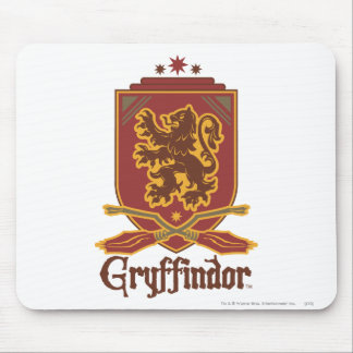 Tapis De Souris Insigne de Harry Potter | Gryffindor QUIDDITCH™