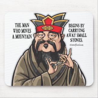 Tapis de souris inspiré de citation de Confucius