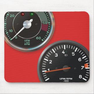 Tapis De Souris Instruments automatiques vintages/mesures de