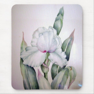 Tapis De Souris Iris d'aquarelle