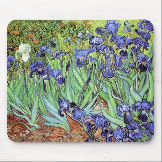 Tapis De Souris Iris par Vincent van Gogh